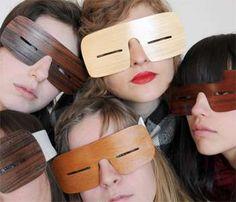 Slanties Makes Handcrafted Wooden Eyewear to Last Centuries #tech trendhunter.com
