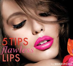 5 tips for flawless lips // loving these tricks from beauty experts!