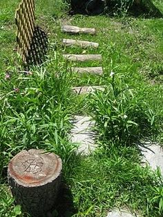 let the children play: create a natural playscape in your own backyard