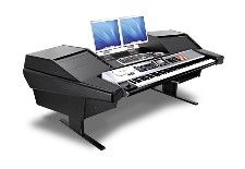 Awesome keyboard workstation furniture for musicians.