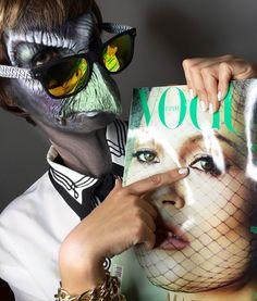 Makeup artist MAXILUXURY MAXI GALVAN  makeup girls vogue kate moss model top spain malaga new york madrid mac nyx green beautiful   Caracterizacion de pajaro  Characterization Bird Latex mascara