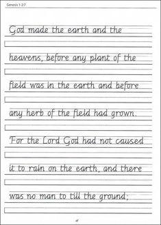 scripture character writing worksheets zaner bloser beginning cursive school stuff pinterest. Black Bedroom Furniture Sets. Home Design Ideas