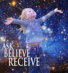 Vraag, geloof, ontvang ♥
