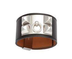 Bracelets de force Hermès collier de chien http://www.vogue.fr/joaillerie/shopping/diaporama/bracelets-de-force-hermes-marc-deloche/16063/image/877842