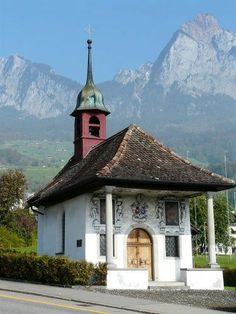 Schwyz in the Alps