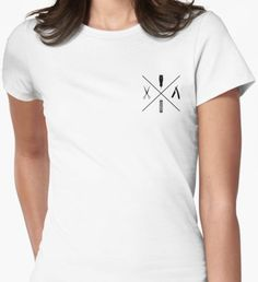 Minimalistic Barbers Women's Fitted T-Shirt Barbers, Shirt Designs, Minimalist, T Shirts For Women, Things To Sell, Color, Tops, Style, Fashion