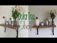 Hi ya'll! Since you liked my last Dollar Tree DIY Corner shelf, today Im making a DIY SHELF/Bookshelf. This dollar Tree DIY shelf is great for storage and or...