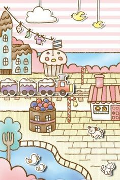 Sweets Shop LiveWallpaper Free | Android Live Wallpaper Gallery    I love this one!