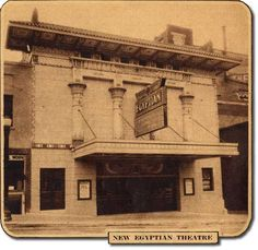 Greetings From Sioux Falls Presents: The Egyptian Theater. The Egyptian Theater stood behind the present Phillips Avenue Diner.