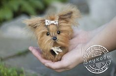 York Мilli Yorkshire Terrier Teddy York Toy little by teddiktoys