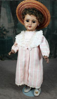SFBJ 301 Mulatto French Bisque Doll