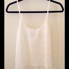 NWOT CROCHET TOP!!! :) Bought from tillys. Open to negotiations feel free to make an offer, PayPal discounts :) Forever 21 Tops