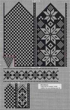 Photo Photo Hello girls today I plan to share examples of easy booties made - Knitting Knitted Mittens Pattern, Knit Mittens, Mitten Gloves, Knitting Socks, Knitting Charts, Knitting Patterns, Norwegian Knitting, Fair Isle Knitting, Cross Stitch Kits