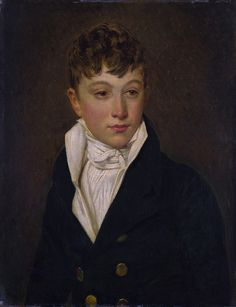 French School, ok1810 - Portrait of a young man. Part 2 of the National Gallery