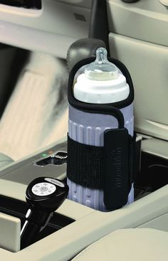 Munchkin Travel Bottle Warmer. I can't tell you how many times I used this over the first year! Great for babies that insist on warm bottles. Perfect for long road trips or being out-and-about.
