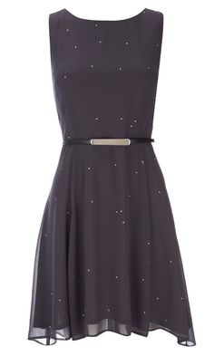 Wallis Black Diamonte Dress, £38
