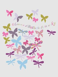 Pack of 37 BUTTERFLY BOUQUET Stickers