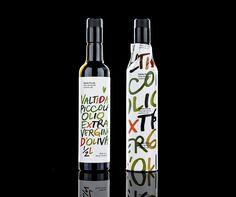 Label design for 'Valtida Piccola' olive oils by Bruketa OM Olive Oil Packaging, Wine Packaging, Brand Packaging, Blog Design Inspiration, Packaging Design Inspiration, Olives, Edible Oil, Identity, Wine Label Design