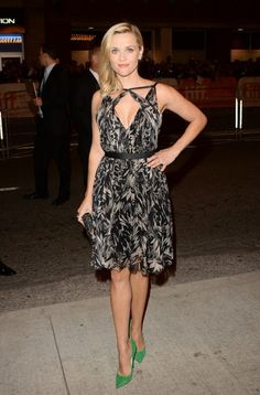 Reese Witherspoon in Jason Wu and Jimmy Choo at TIFF 2013.