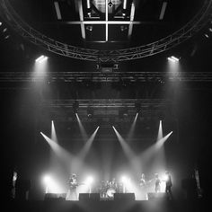 Still can't get over this awesome venue in Luxembourg. @rockhallux @bounceuklondon  #music #band #party #stage #Luxembourg #performance #musicians #performers #rock #pop #dance #lights #lighting by andyheathcote