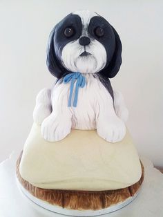 Shih Tzu cake by Wintersgate, via Flickr