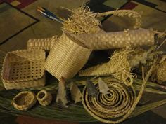 made from corn shuck
