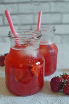 mrożona herbata truskawkowa Hot Sauce Bottles, Kitchen, Blog, Cooking, Kitchens, Blogging, Cuisine, Cucina
