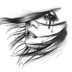 Drawing, Crying, realistic
