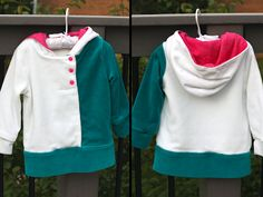 Climbing the Willow: pattern review friday - heidi & finn urban hoodie