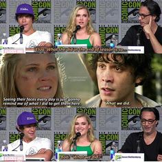 #bellarkesource thank you Bellamy so much for speaking up and saying that it makes my ship complete!! Almost, a hug and a true bellarke moment would be nice hahaha