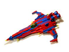 /by Crimso Giger #flickr #LEGO #space #starfighter