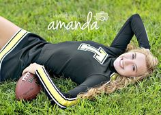 Cheer picture, and it even says my name(; Cheerleading Senior Pictures, Senior Cheerleader, Cheer Team Pictures, Football Cheerleaders, Cheerleading Outfits, Girl Senior Pictures, Senior Pics, Cheerleading Stunting, Senior Year
