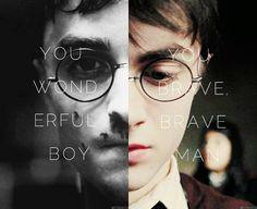 """You wonderful boy. You brave, brave man."" -Albus Percival Wulfric Brian Dumbledore 1000th PIN!!!!"