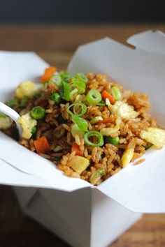 Today I am going to share how to make homemade vegetable fried rice that's as good as the ones ordered from Chinese restaurants with you! Let me start with