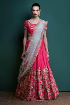 Lehengas - Buy Designer Lehenga Choli Online Uk Shopping At Shopkund, Indian Wedding Gowns, Indian Wedding Hairstyles, Indian Bridal Lehenga, Indian Bridal Wear, Indian Dresses, Indian Outfits, Indian Wear, Bridal Sarees, Indian Clothes