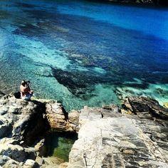 Beach. Mykonos. Greece.