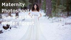 MATERNITY PHOTOGRAPHY, Breathtaking pregnancy photo shoot behind the sce...