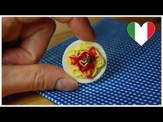 polymer clay Spaghetti TUTORIAL (Valentine's Day) - YouTube