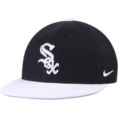 premium selection 75862 d9990 Men s Nike Black White Chicago White Sox Aero True Adjustable Hat