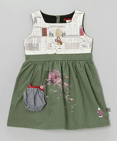 Take a look at this City Sage Brownstone Dress - Infant, Toddler & Girls by Coney Island Baby on #zulily today!