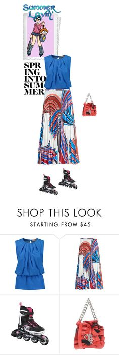 """""""#7895 - Rollerblades Fun & Emilio Pucci"""" by pretty-girl-in-fashion ❤ liked on Polyvore featuring Emilio Pucci"""