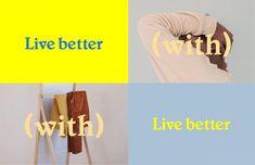 Live Better — Carolyn Rhee Ad Design, Layout Design, Branding Design, Logo Design, Graphic Design, Presentation Layout, Aesthetic Room Decor, Typography Logo, Brand It