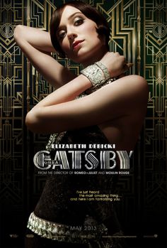 "Elizabeth Debicki as Jordan Baker for Baz Luhrmann's ""The Great Gatsby"", photographed by Hugh Stewart. Jay Gatsby, Look Gatsby, Gatsby Theme, Gatsby Style, Gatsby Party, Gatsby Girl, 1920s Theme, 1920s Style, The Great Gatsby Characters"