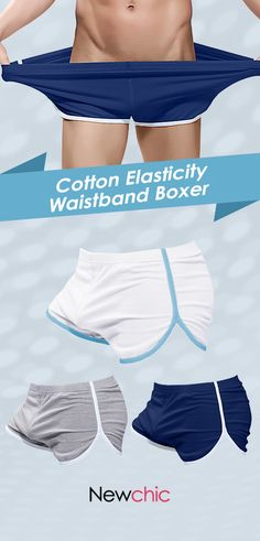 4a4d73b93f  Buy 3 get OFF Loose Home Breathable Sport Soft Cotton Boxer Shorts