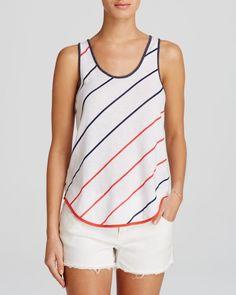 Alternative Tank - Eco Jersey Stripe