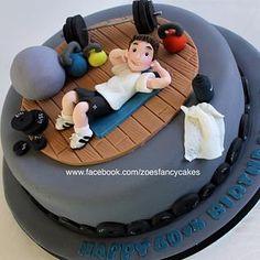 Online Birthday Cake, Birthday Cakes For Men, Gym Cake, Fondant, Zoes Fancy Cakes, Cake Design For Men, Diwali Pictures, Cupcake Cakes, Cupcakes