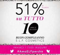 Sabry Make Up: BUON COMPLEANNO ELF!