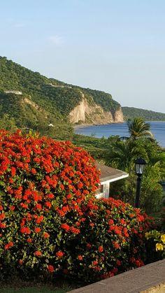 Emerald Isle, Volcano, Islands, Caribbean, Tourism, British, Mountains, Travel, Turismo