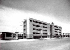 Hospital General de Mexicali (ISSSTE), Lerdo de Tejada 1580, Centro, Mexicali, Baja California, Mexico 1961 Arqs. Alejandro Prieto, Imanol Ordorika y Jokin Ordorika Bengoechea