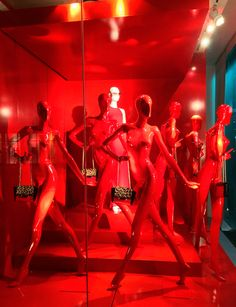 "Diane von Furstenberg,Meatpacking District NYC, ""I'm Seeing Red"", pinned by Ton van der Veer"